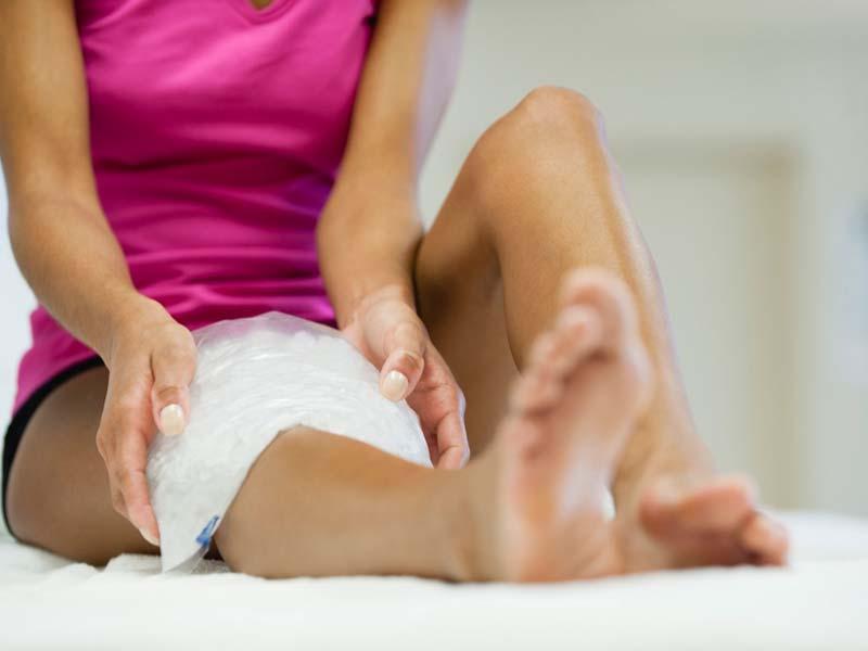 terapias caseras para el dolor de rodilla