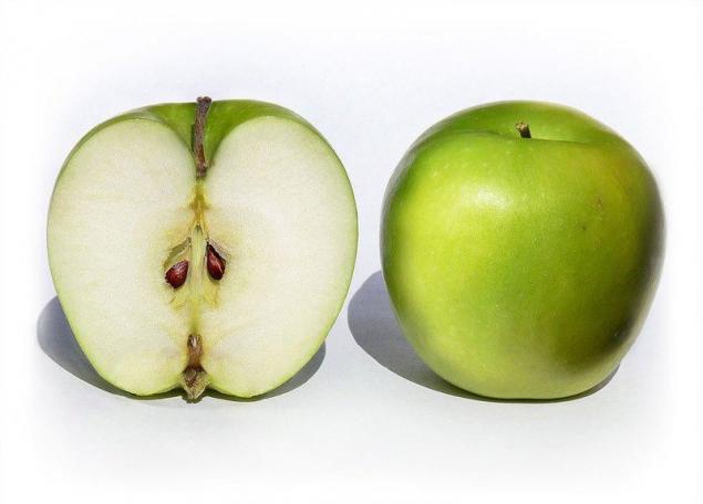 semilla de manzana con poder anticancerígeno