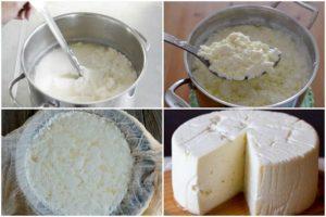 como hacer queso casero