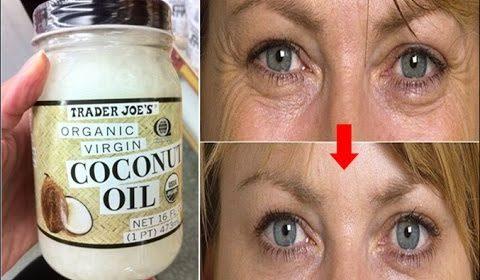 aceite de coco para las arrugas y manchas del rostro