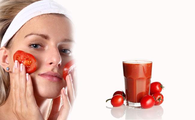 tomate para cuidar la piel