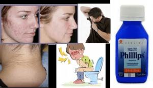 eliminar el mal olor de las axilas empleando leche de magnesia