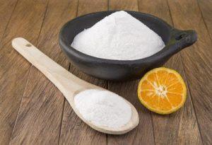 limón y bicarbonato para eliminar las estrías
