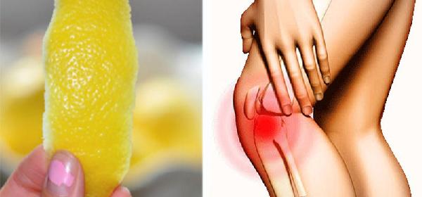 cáscara del limón para dolor articular