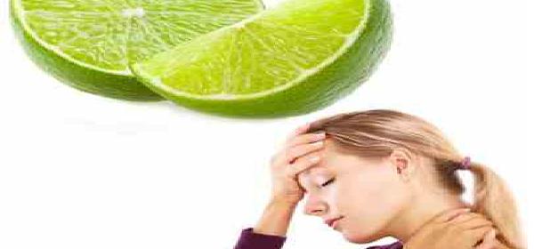 limón para eliminar dolor de cabeza