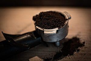 usos de la borra de café