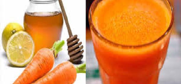 limpiar los pulmones con zanahoria y limón