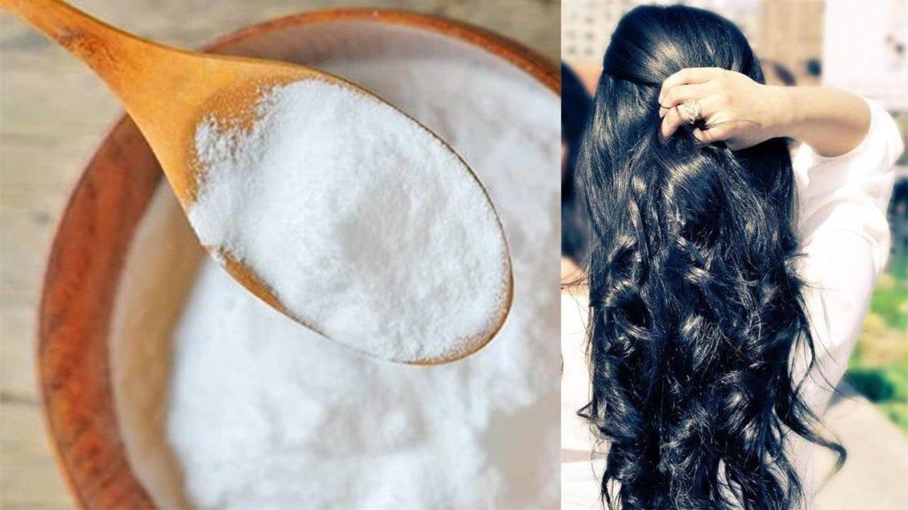 cómo alisar el cabello con bicarbonato