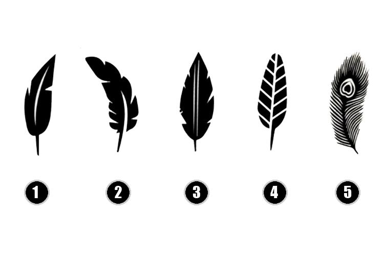Test de las plumas para la personalidad