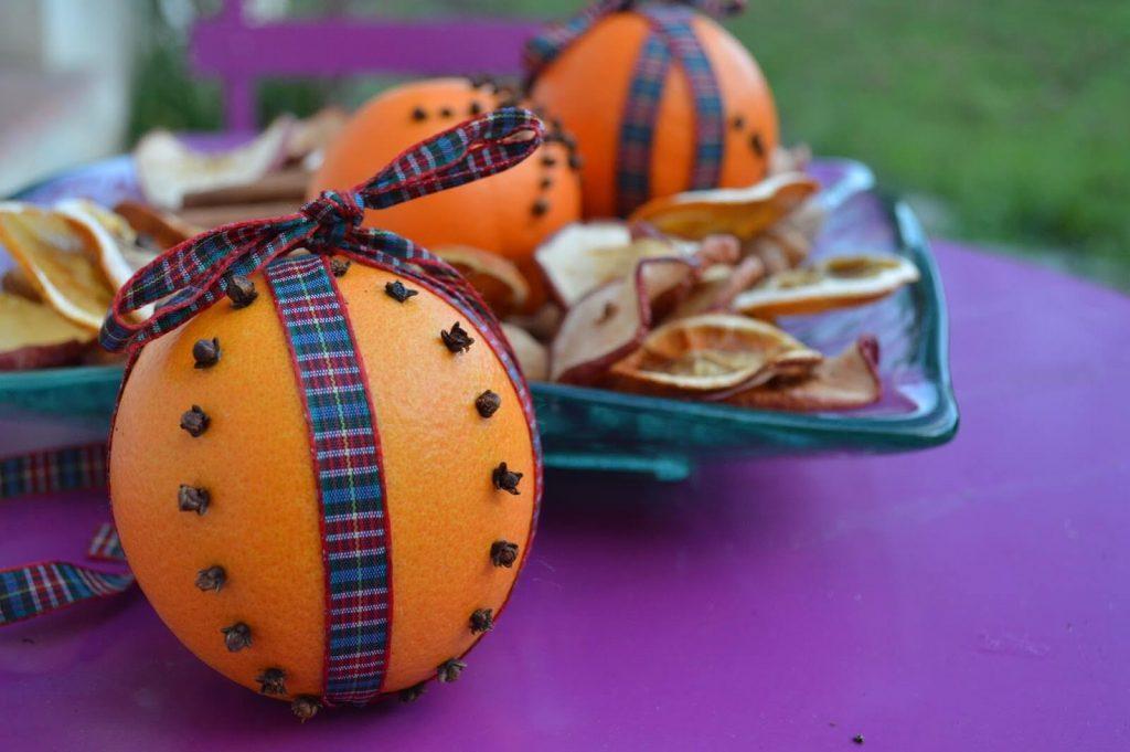 Naranja y clavo de olor para atraer buena suerte