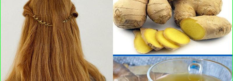 Recetas con jengibre para el cabello