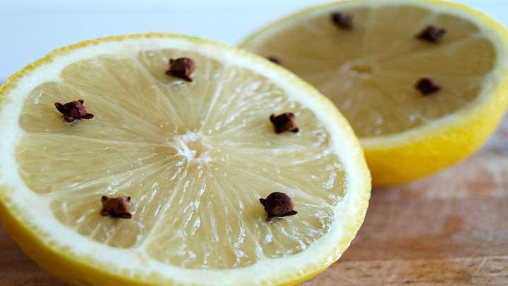 Limón y clavo de olor para alejar envidia