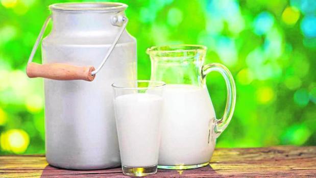 Gelatina y leche para blanquear pies y cuello